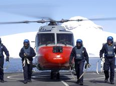 HMS Endurance Flight Deck