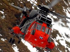 SAR Sea King from HMS Gannet, Prestwick