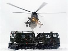 846 NAS supporting Royal Marines in Norway