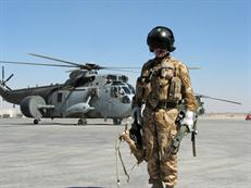 854 NAS Sea King in Afghanistan