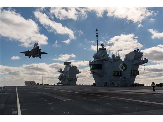 Another milestone landing on HMS Queen Elizabeth