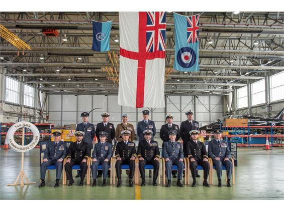 Commissioning of 744 Naval Air Squadron