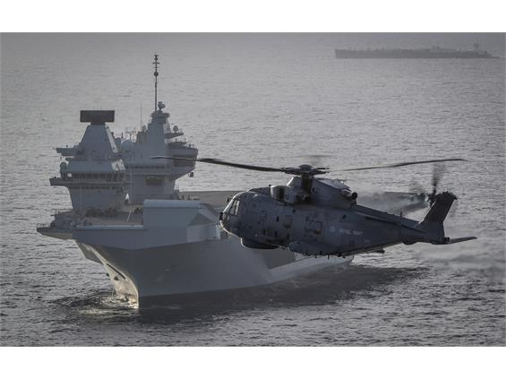 820 NAS ARRIVE HOME FROM THE ROYAL NAVY'S RETURN TO CARRIER AVIATION