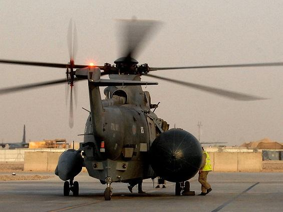 ASaC Sea Kings leave Afghanistan