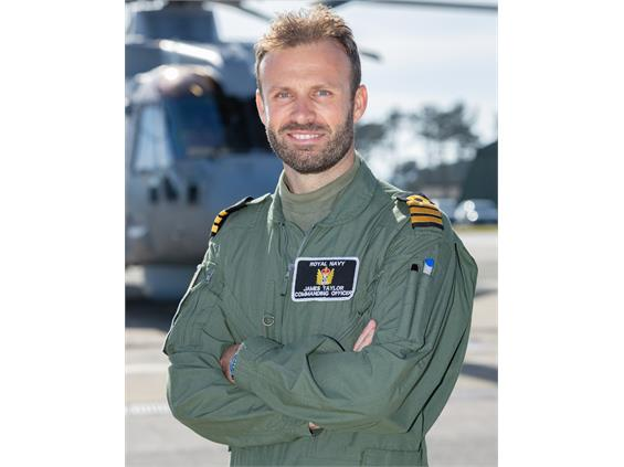 Cornishman becomes Royal Navy squadron commander