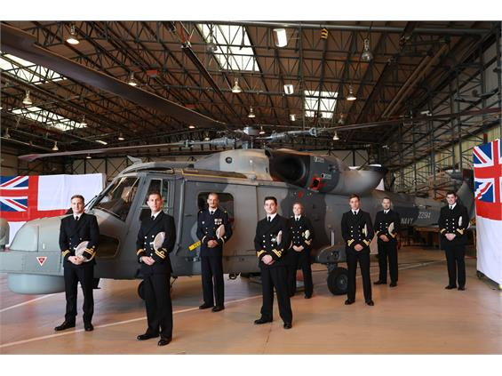 EIGHT NEW AVIATORS GET THEIR WINGS TO JOIN THE FRONT LINE