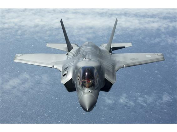 F-35s to come home for the first time next month