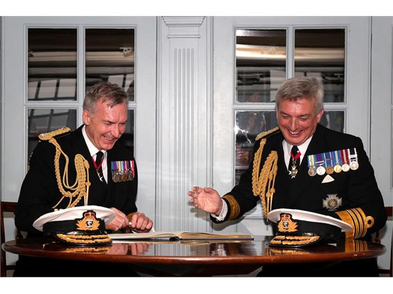 ROYAL NAVY APPOINTS NEW FIRST SEA LORD