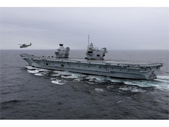 Date announced for HMS Queen Elizabeth's planned entry to Portsmouth