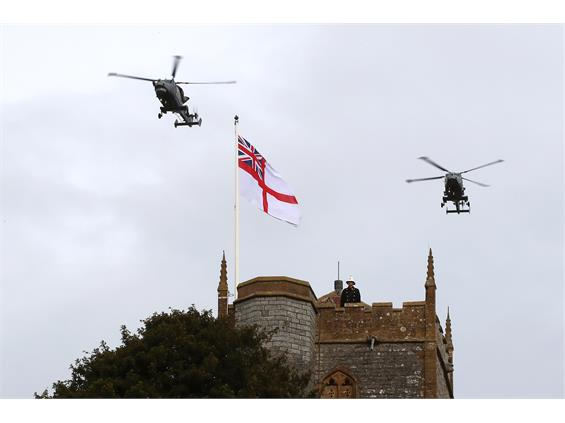 RNAS Yeovilton's Act Of Remembrance