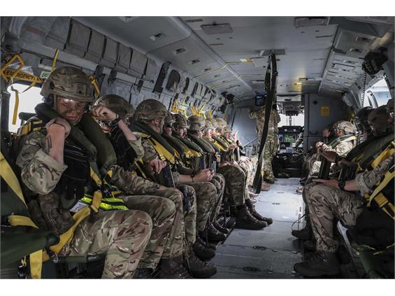 COMMANDO HELICOPTER FORCE ON BALTOPS