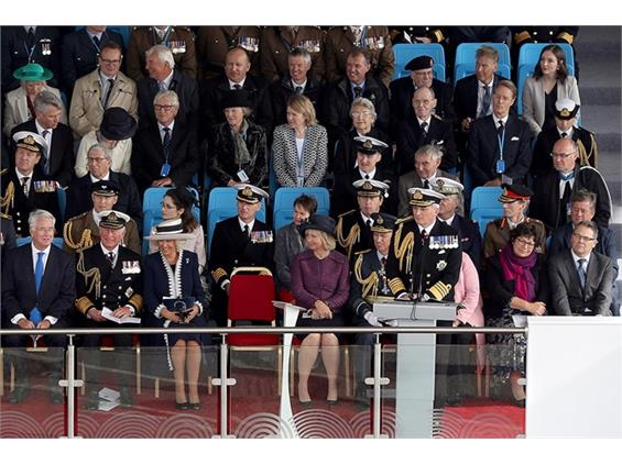 The First Sea Lord's speech for the naming of HMS Prince of Wales