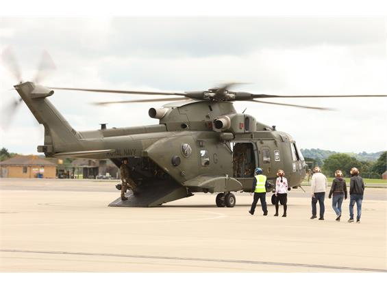 THE FIGHTING FORCE AT RNAS YEOVILTON SAY THANK YOU TO THEIR FAMILIES
