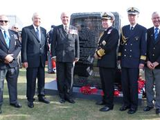 Channel Dash memorial Dover unveiling ceremony