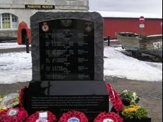 Memorial to 825NAS Channel Dash Heroes