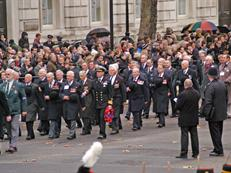 FAA Federation march past The Cenotaph