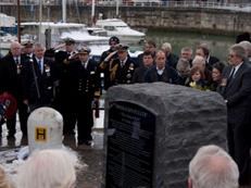 Dedication of Memorial to 825NAS Channel Dash Heroes