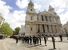 Royal Guard at St Paul's