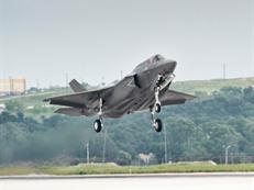 Inaugural flight of UK's 1st F-35B