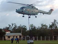 Lynx Flight helping with disaster relief