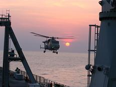 Wildcat trials RFA Mounts Bay June 2013