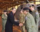 Defence Secretary visits Olympic Security