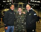 England and Bath Rugby legend Jeremy Guscott, Sgt Jonathan Insley RM, England and England and Wasps'