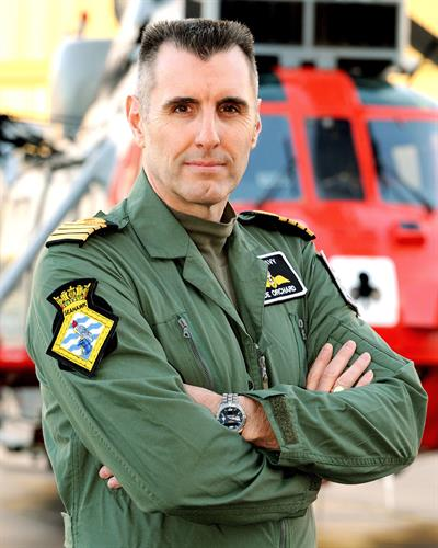 Captain Adrian Orchard OBE