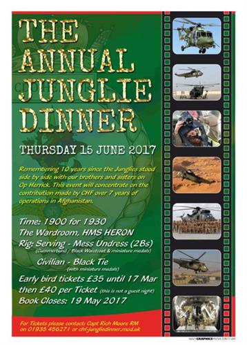 Annual Junglie Dinner