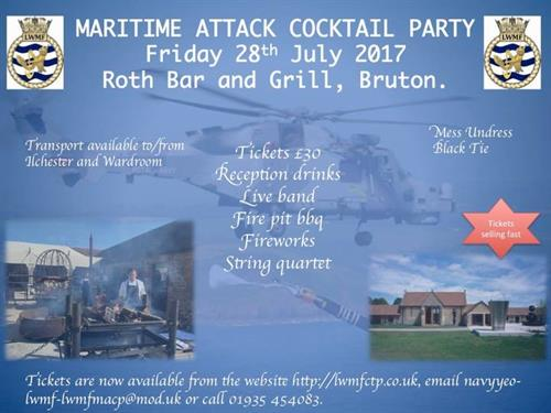Maritime Attack Cocktail Party 2017