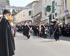 HMS Seahawk Band Freedom of Helston Parade