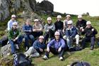 820 NAS Adventurous training in South West Wales