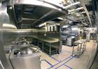 Galley A aboard Queen Elizabeth