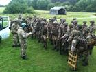 CPO Paul Jayes briefing Paras