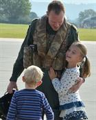Homecoming of 211 Flt 815 NAS
