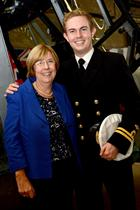 Lt Jonathan Hamlyn and Mother Catherine Hamlyn