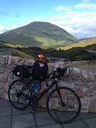 Lucky Mascot and Bike at Glencoe