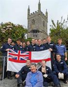 Wendy Bailey and RNAS Culdrose Trainees