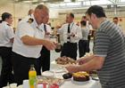 Lt Cdr Paul Toon 1st Lt of RNAS Culdrose at the Big Brew Up