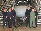 Royal Netherlands Navy PWO- SM course with Lt Martin Young of 824 NAS at RNAS Culdrose