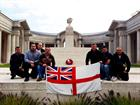 824 NAS Group at the Memorial in Arras