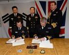 All five participants, far right First Sea Lord Admiral Sir George Zambellas