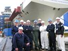 RNR Air Branch visit to Queen Elizabeth carrier