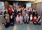 Huish Primary School with Arctic Star Veterans and Family members