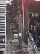 Installation of QE port shaft 27 January 2014