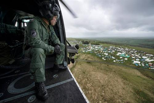 Commando Helicopter Force Support Ten Tors 2014