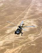 An 854 NAS bagger on patrol in Afghanistan in 2011. Picture LA Phot Alex Cave