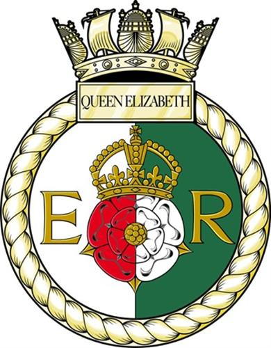 Image result for hms queen elizabeth ship's crest