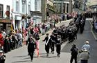 RNAS Culdrose march through Helston