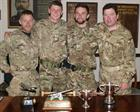 Shooters from Culdrose with Trophies